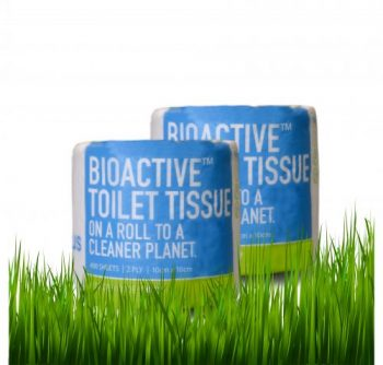 Bioactive Toilet Tissue